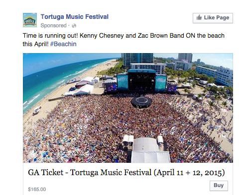 Facebook Ads event
