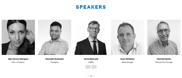 event speakers
