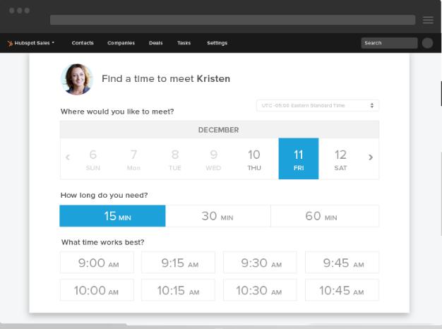 meeting-hubspot sales