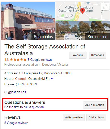 self storage association australia   Google Search